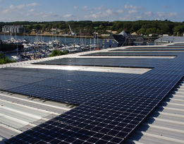 Commerical RNLI Solar PV Rudge Energy