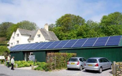 National trust Coleton Fishacre Shop – A 9.84kWp Solar PV array