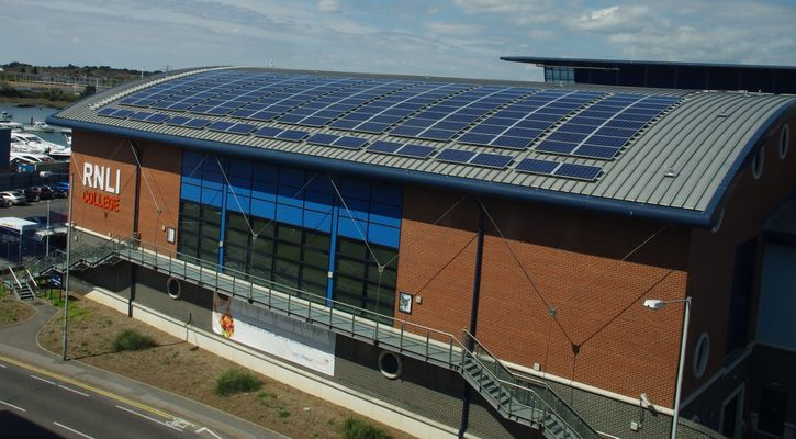 RNLI Commercial Solar PV Rudge Energy