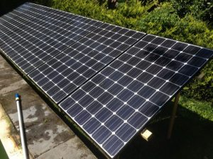 Shaded Solar Array Rudge Energy Devon