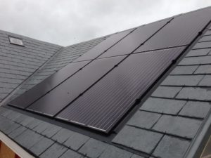 Solar pv array Rudg Energy Devon