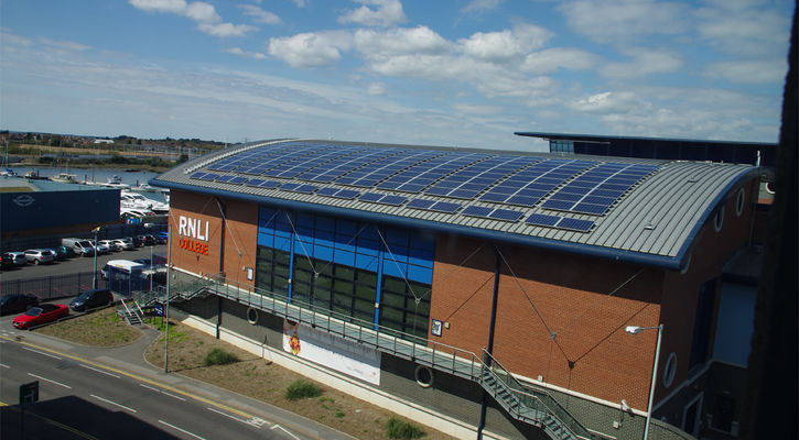 RNLI Training Centre - Commercial Solar - Rudge Energy